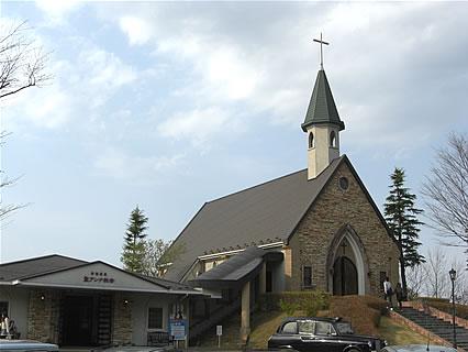 アンナガーデン 聖アンナ教会 外観