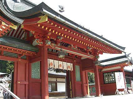 志波彦神社 門