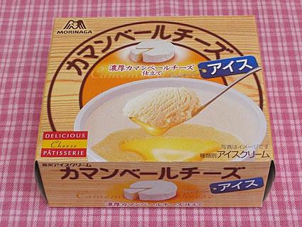 森永製菓 カマンベールチーズアイス(158円)