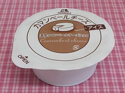 森永製菓 カマンベールチーズアイス 箱の中身