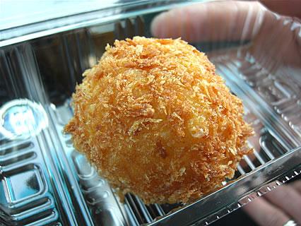 キッチンぴじょん チーズ入りポテトコロッケ(100円)