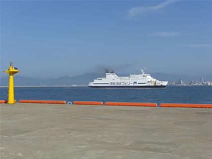 青森港フェリー埠頭 津軽海峡フェリー