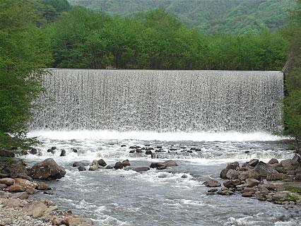 滝の股川砂防ダム