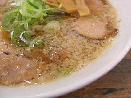 中華そば ひらこ屋 せあぶら(中) スープ