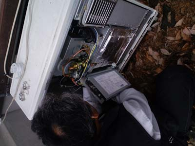 流量センサー給湯器修理