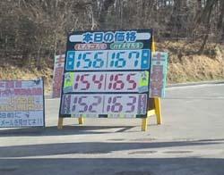 H25.3.21ガソリン価格