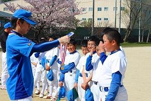 20100410菟田野杯メダル授与風景 (3)
