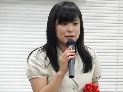 講演する笹幸恵氏