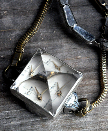 Unearthen Crystal Pyramid Watch