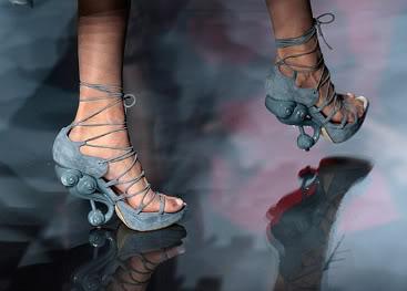 Jadore sculpted shoes