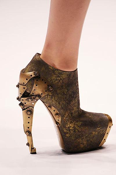 Alexander McQueen Steampunk-esque Heels10ss1