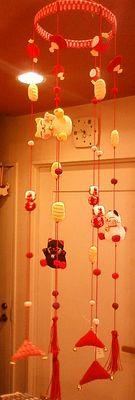 猫吊り飾り
