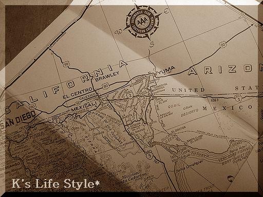 ヴィンテージ CAの地図
