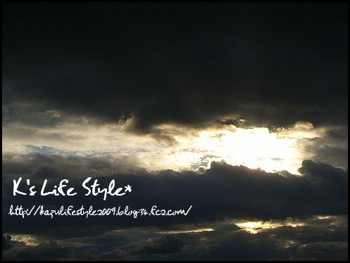 刻々と変わる雲