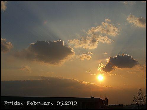 2月5日晴れ
