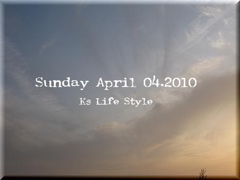 4月4日 晴れ