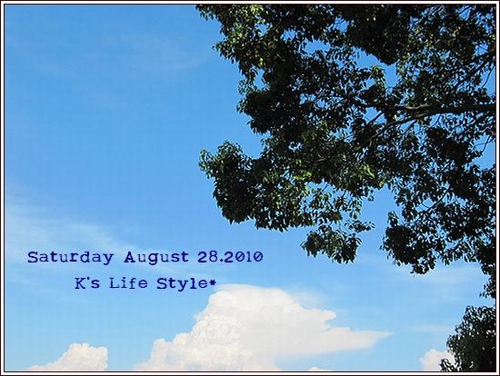 8月28日 晴れ