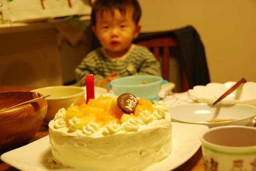 しゅうた初誕生日