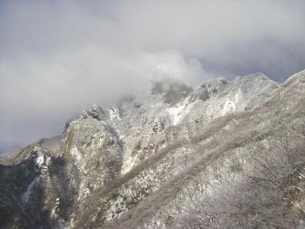 110102根子岳稜線