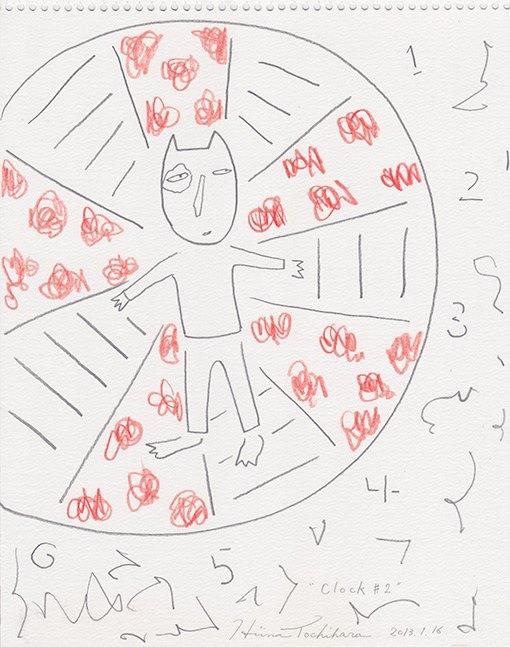 『Cocky Clock #2』 2013,1,16