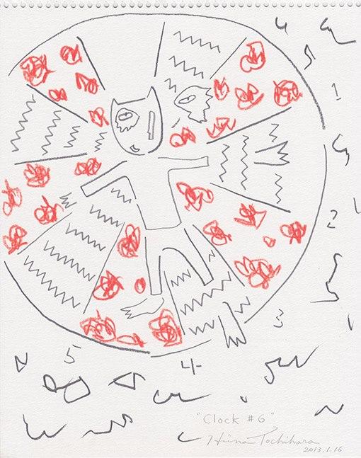 『Cocky Clock #6』 2013,1,16