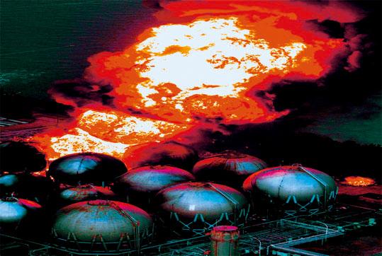 東日本大震災火の鳥・超特上合体