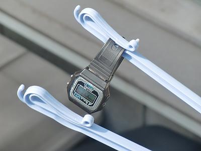 洗濯してしまった腕時計