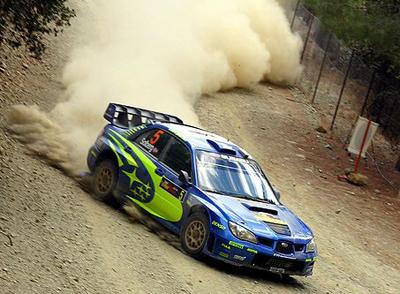 WRCでのインプレッサ