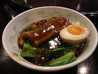 豚の角煮ご飯¥210