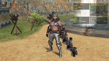 SP2箇所換装剣士装備