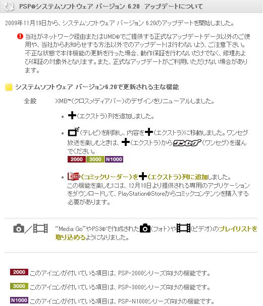 PSP UPDATE 6.20 1