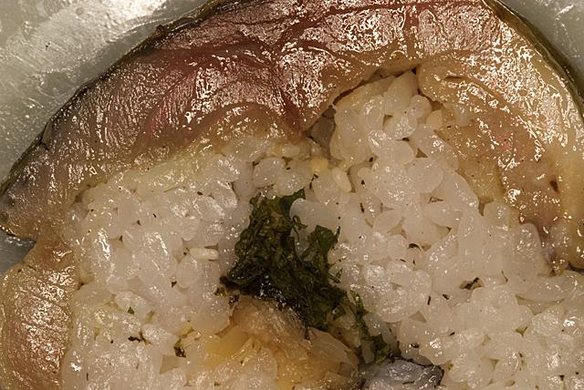 091231_001_寿司いずみの鯖寿司