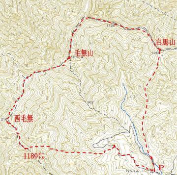 毛無山2010-1-29