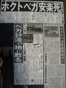 ホクトベガ記事
