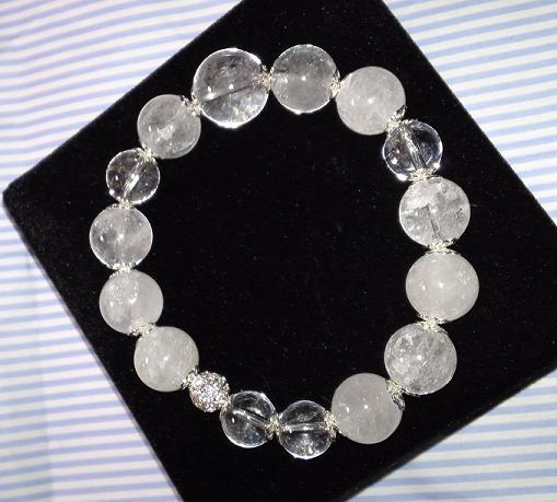 ヒマラヤ水晶のブレスレット (2)