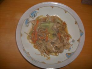 豚の味噌炒め006