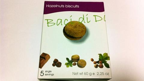 Hazelnuts buiscuits