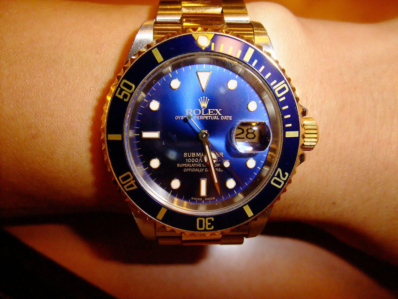 timeless design 24483 a6ef6 金ルチルの好きなモノ 金ルチルは腕時計が好き!!(ロレックス ...
