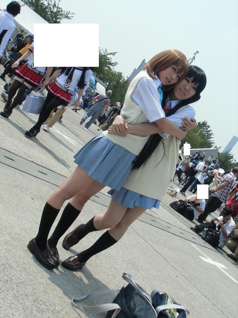 けいおん! K-ON 平沢 唯(ひらさわ ゆい) 中野 梓(なかの あずさ) コミックマーケット コスプレ C84 002