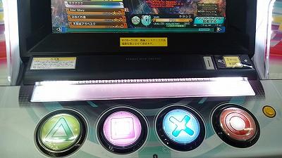 初音ミク Project DIVA Arcade Future Tone 筐体 ボタン