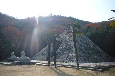 神秘のピラミッド