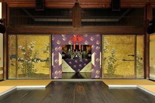 宝鏡寺 本堂内部