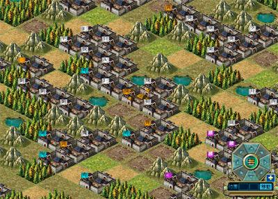 熱血三国-中央近くは混みだした
