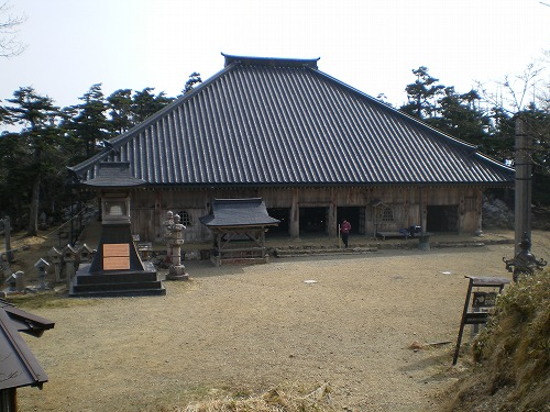 20100504 17  大峰山寺(L)