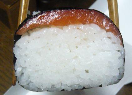 サーモン棒寿司1
