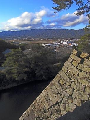 伊賀上野城石垣