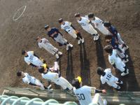 2010リーグ戦 円陣