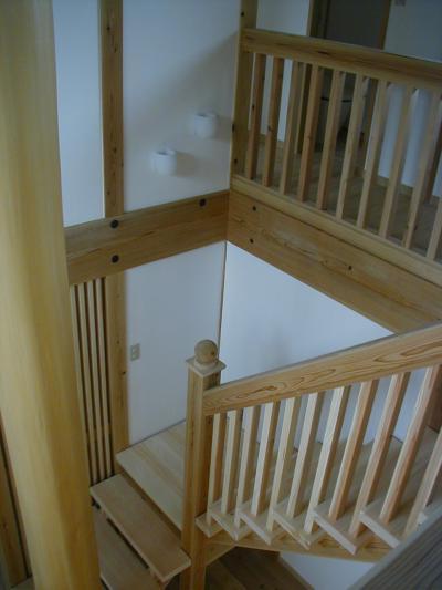 牛島邸階段