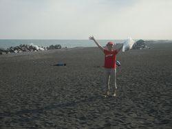 大浜の海!