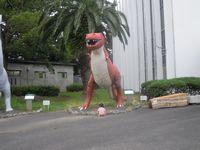 名残惜しい恐竜館